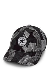 Converse Scattered Stripe Baseball Cap Black