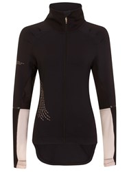 Elle Sport Sleek Performance Workout Jacket Black