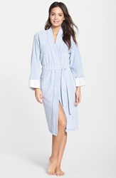 Natori Women's 'Nirvana' Midi Robe Imperial Blue