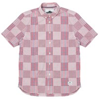 Penfield Penrose Check Short Sleeve Shirt Red
