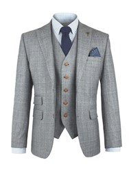 Gibson Men's Grey Check Jacket Grey
