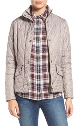 Barbour Women's 'Cavalry' Flyweight Quilt Jacket Taupe