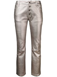 Zadig And Voltaire Cropped Trousers Grey