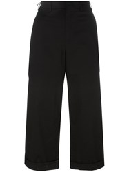 N 21 No21 Cropped Trousers Black