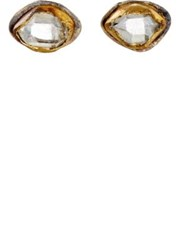 Judy Geib Women's Marquise Studs Gold