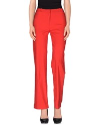Compagnia Italiana Trousers Casual Trousers Women Red