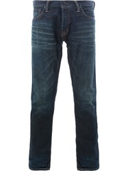 Mastercraft Union Perfectly Fittred Straight Leg Jeans Blue