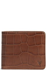 Men's Trask 'Jackson' Slimfold Embossed Leather Wallet