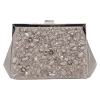 Coast Gully Sparkle Clutch Bag Grey