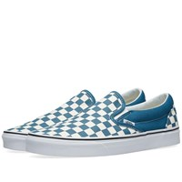 Vans Classic Slip On Checkerboard Blue