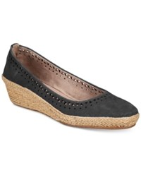 Easy Spirit Derely Wedges Women's Shoes Black