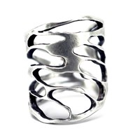 Carrie Bilbo Jewelry Cicada Cut Out Ring