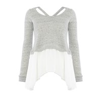 Pepper And Mayne Ballet Sweater Grey