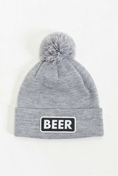 Coal The Vice Beer Pom Beanie Grey