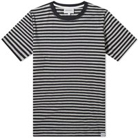 Norse Projects Niels Classic Stripe Tee Grey
