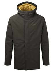 Craghoppers Men's Irvine Gore Tex Waterproof Jacket Dark Khaki