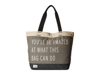 Toms Transport You'll Be Amazed Tote Charcoal Tote Handbags Gray