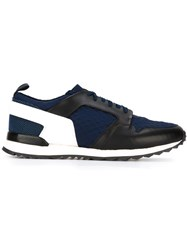 Oamc Panelled Sneakers Blue