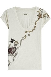 Zadig And Voltaire Embellished T Shirt