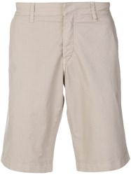 Fay Classic Chino Shorts Nude And Neutrals