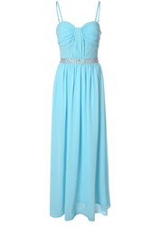 Alice And You Embellished Waistband Bandeau Maxi Blue