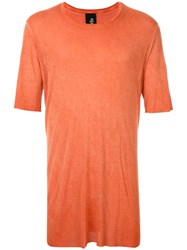 Thom Krom Acid Washed T Shirt Orange