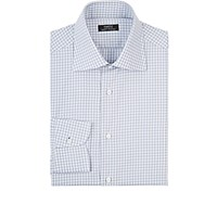 Fairfax Men's Gingham Shirt Grey