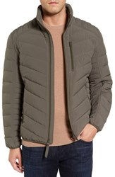 Marc New York Bergen Quilted Down Jacket Moss