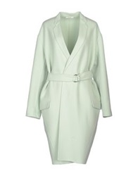 Celine Celine Coats Light Green