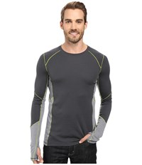 Smartwool Phd Light Long Sleeve Shirt Graphite Men's Long Sleeve Pullover Gray