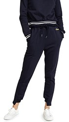 Evidnt Where Embroidered Sweatpants Navy