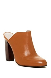 Pour La Victoire Verdi Leather Mule Brown