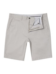 Linea Chesham Mini Check Linen Short Grey