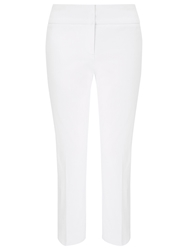 Phase Eight Betty Crop Trousers White