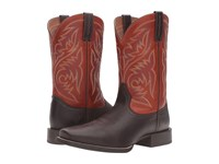 Ariat Sport Herdsman Java Autuwn Dust Cowboy Boots Brown
