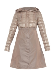 Herno Quilted Down And Taffeta Coat