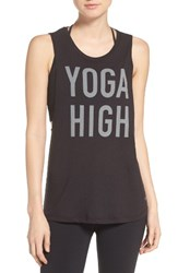 Alo Yoga Women's Om Yes Muscle Tank