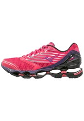 Mizuno Wave Prophecy 5 Cushioned Running Shoes Diva Pink Mulberry Purple Black