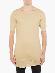 Thom Krom Off White Double Layered T Shirt
