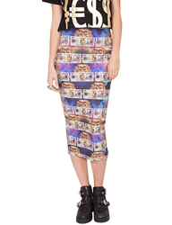 Pixie Market Currency Pencil Skirt