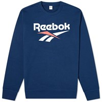 Reebok Cl F Vector Crew Sweat Blue