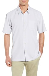 Quiksilver Waterman Collection Cane Island Classic Fit Camp Shirt White