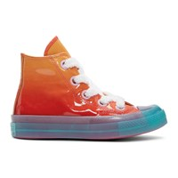 J.W.Anderson Jw Anderson Orange Converse Edition Patent Chuck Taylor '70 Toy Hi Sneakers
