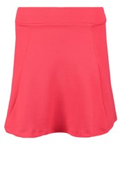 Evenandodd Mini Skirt Neon Pink