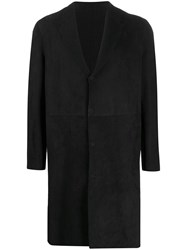Salvatore Santoro Single Breasted Coat Black