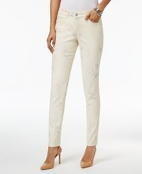 Style And Co Curvy Fit Skinny Jeans Only At Macy's Pastel Summer