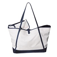 Morton And Hudson Canvas Carryall Tote Pacific