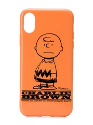 Marc Jacobs Charlie Brown Iphone X Cover Orange