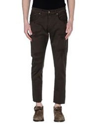 People Denim Pants Dark Brown