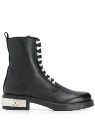 Philipp Plein Statement Boots Black